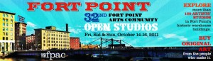 Fort Points Arts Community Open Studios!